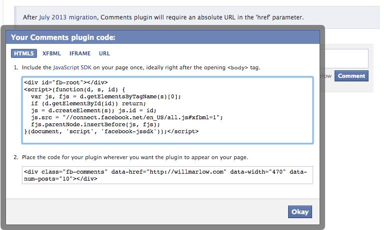Facebook Step 2