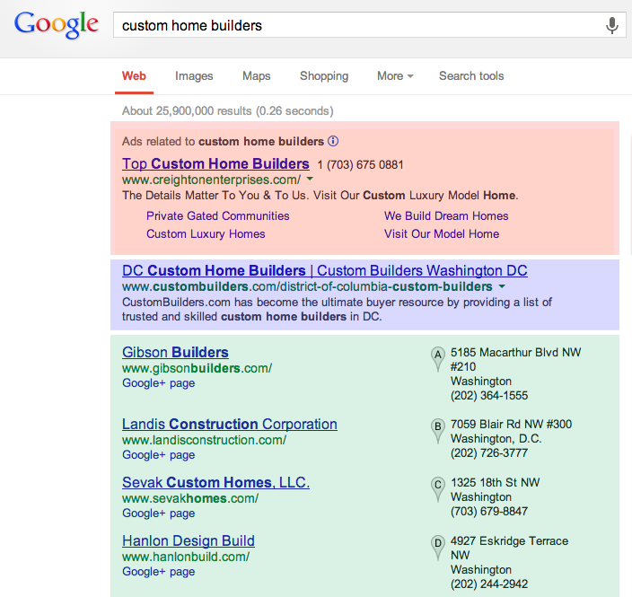What local businesses need to know about google places for Find custom home builder