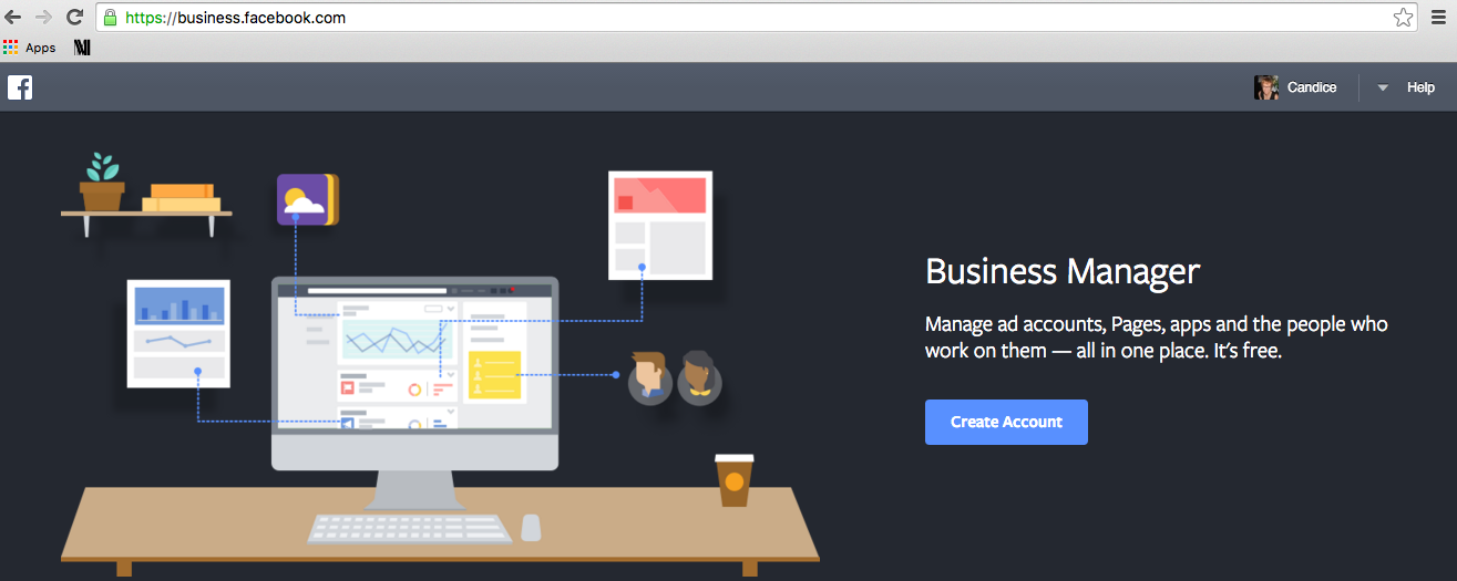 Facebook Business Manager Step 1