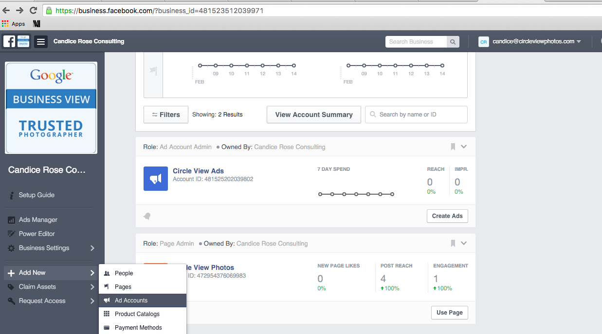 Facebook Business Manager Step 10