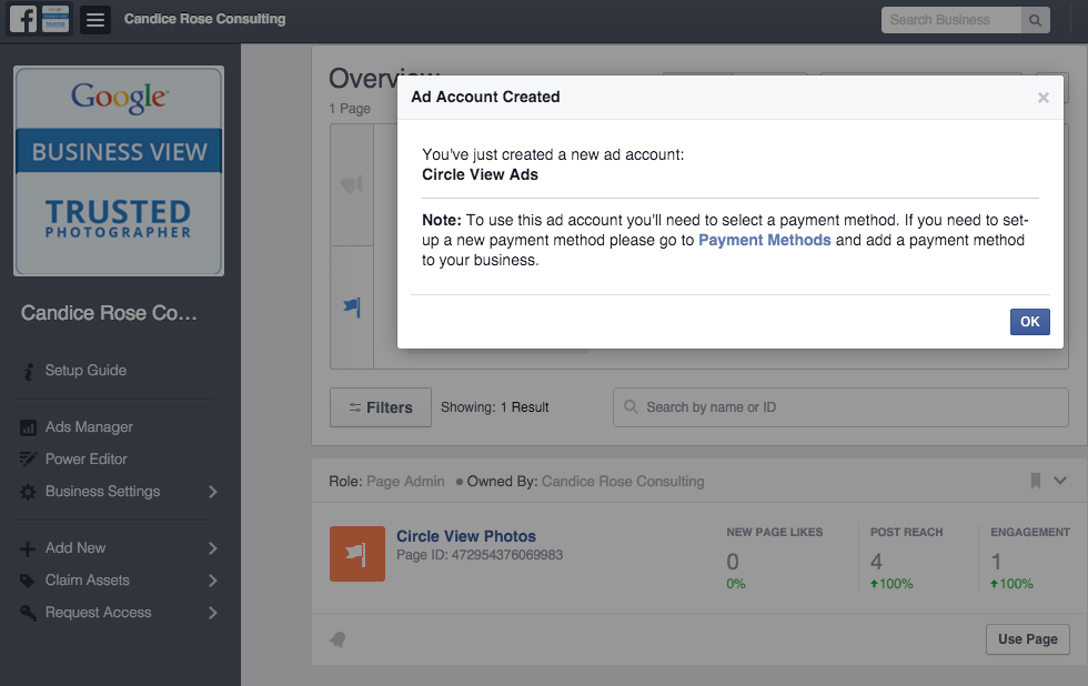 Facebook Business Manager Step 14