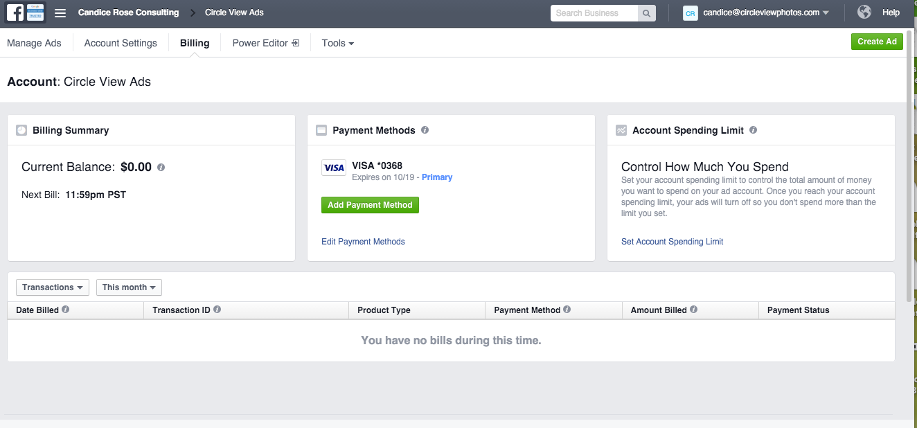 Facebook Business Manager Step 15