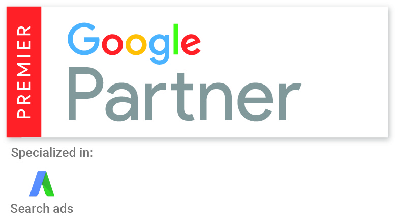 Premier Google AdWords Partner Badge 2016