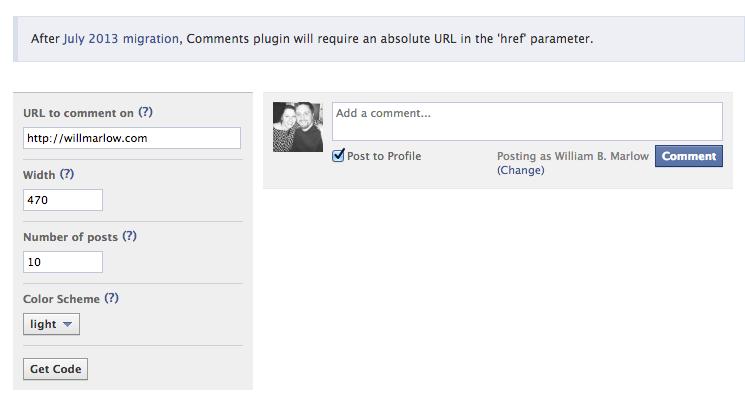 facebook step 1