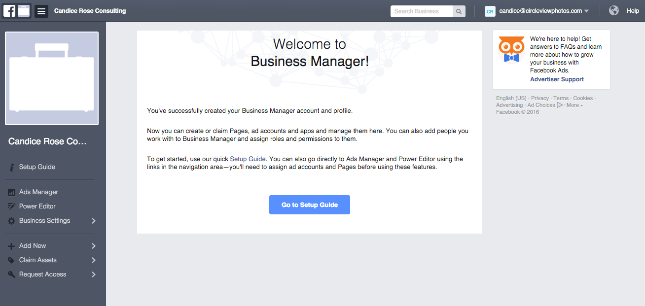 Facebook Business Manager Step 4