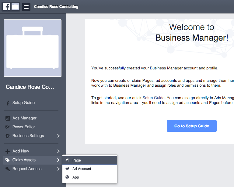 Facebook Business Manager Step 5