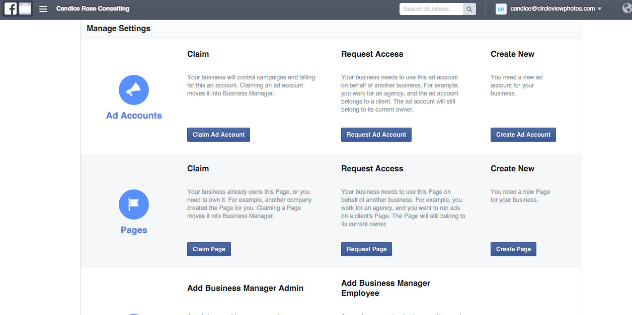 Facebook Business Manager Step 9